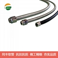 Strip wound small ID flexible metallic conduit,hose for electrical wirings  14