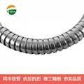 P4型雙扣不鏽鋼軟管 抗拉抗扭不鏽鋼軟管 15