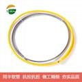 外徑5mm單扣不鏽鋼軟管 不鏽鋼穿線軟管 15