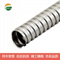 "7/32"" SquareLock Stainless Steel Flexible Conduit"