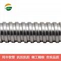 "7/32"" SquareLock Stainless Steel Flexible Conduit  20"