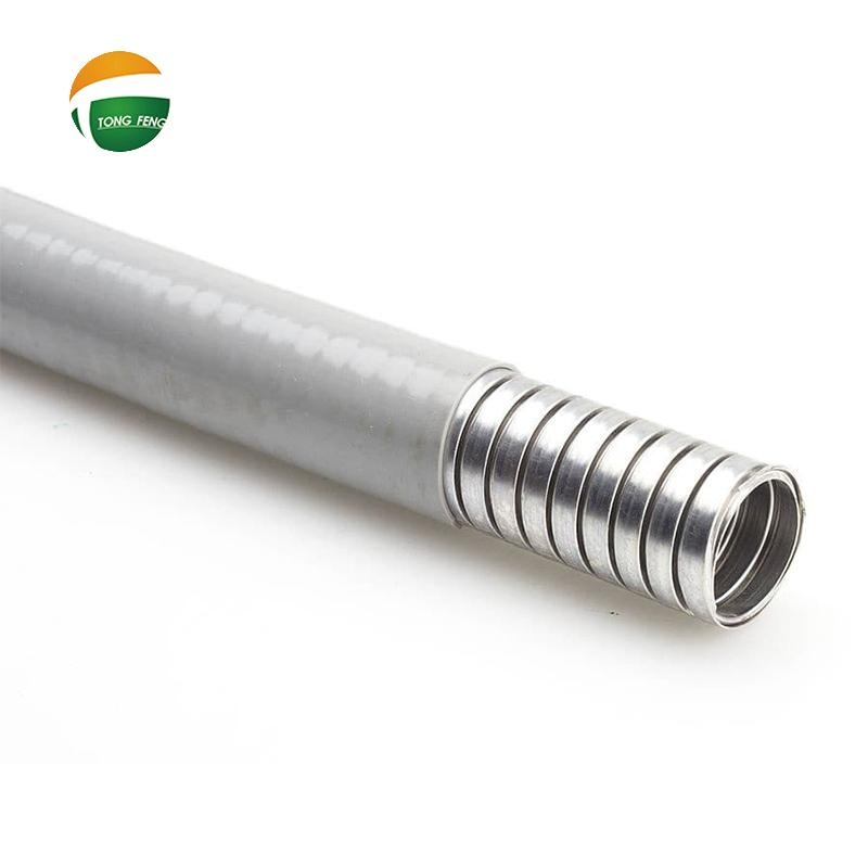 PVC Coated Interlock Stainless Steel Flexible Conduit