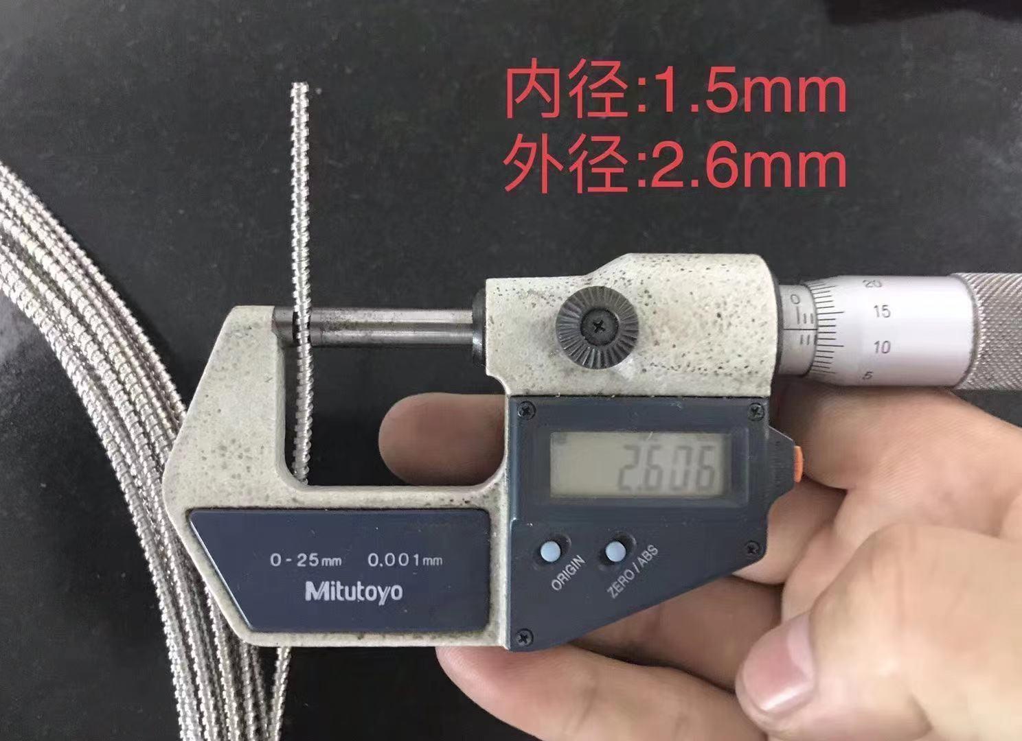 光纖保護軟管 最小內徑3mm光纖保護管 9