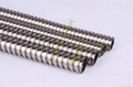 Flexible stainless steel conduit for industry cables protections