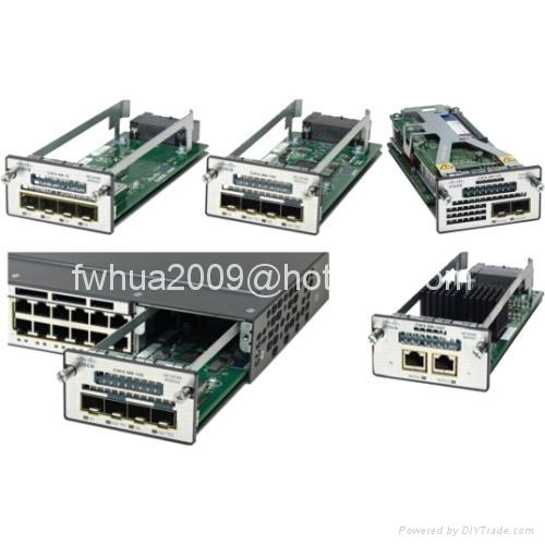 Cisco Switch Card C3KX-NM-10G,C3KX-SM-10G