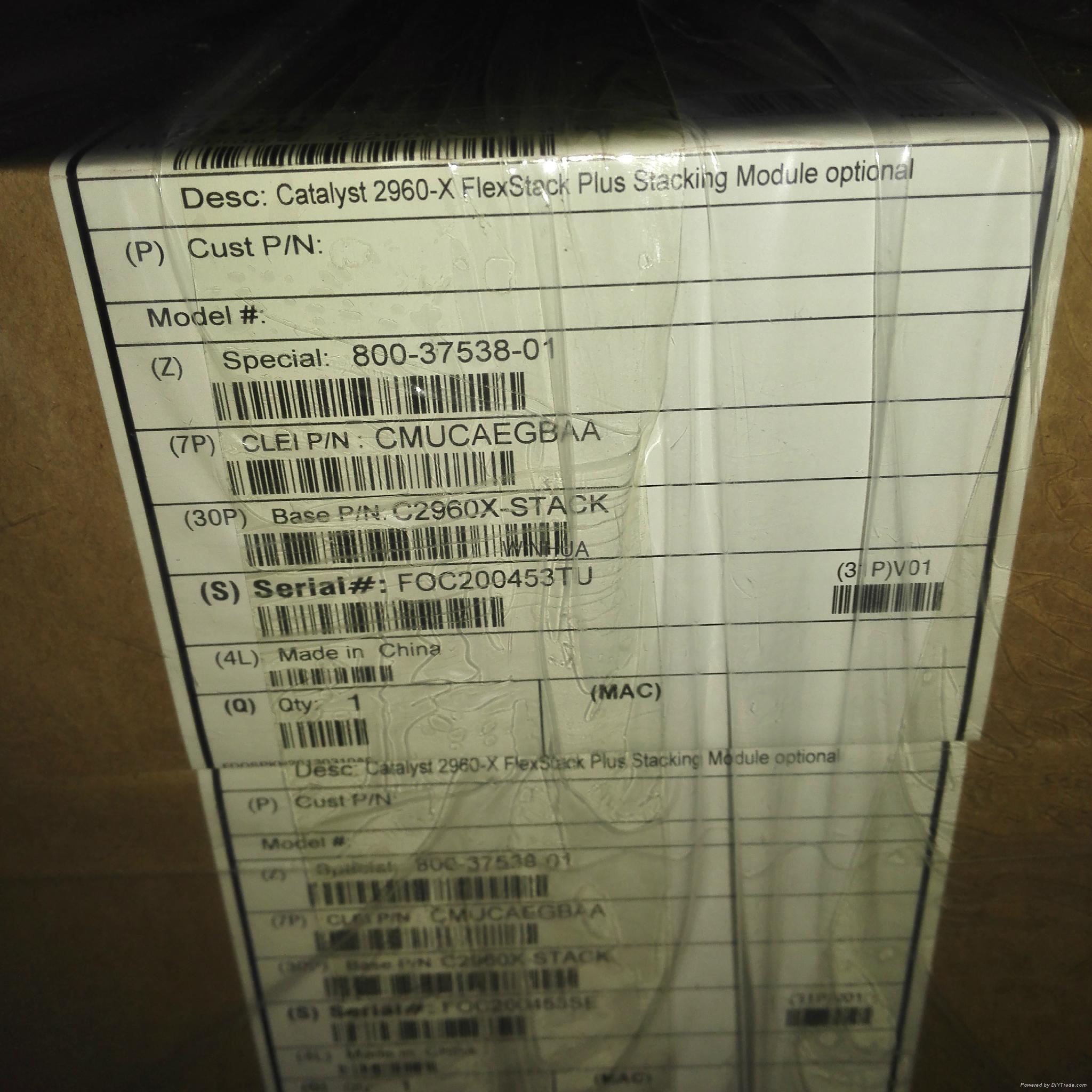 Cisco C2960X-STACK