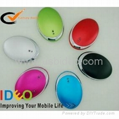 portable power charger for mobile phone with hand warmer