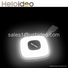 sensor led handbag light with Mini External Power Bank for Iphone