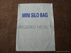 mini. haylage silo bag (white/black silo