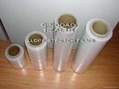 LLDPE stretch films for packing pallets