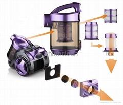 cyclone bagless vacuum cleaner