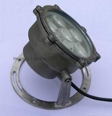 LED水底灯, LED水池灯, 全304浇铸外壳, 9W或12W