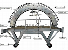 brick lining machine