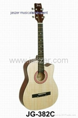 38 inch teaching acoustic guitar