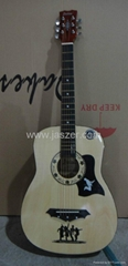 38 inch acoustic  teaching guitar
