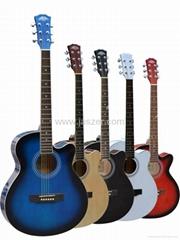 40寸民谣吉他
