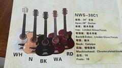 38寸初学民谣吉他