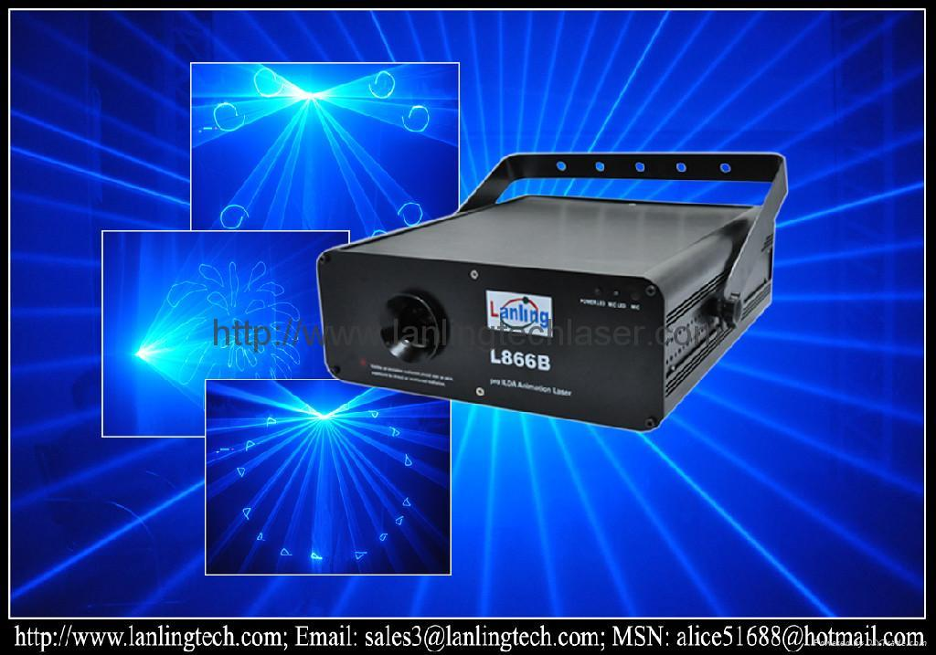 Sell Blue Animation Laser stage light 1