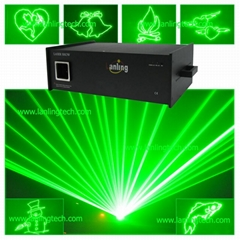 2000mW green laser/outdo