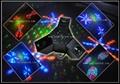 3 Claw 18W RGBYW LED and RG Laser