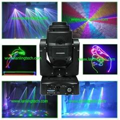 2.5W RGB ILDA Moving Head Laser-LH280RGB