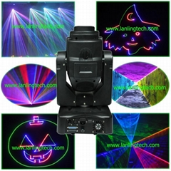 laser dj club party stage lighting lights Moving Head full color laser