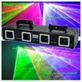 4 head DMX laser light-L2718