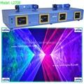 4 lens laser stage lighting projector