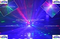RGB Laser Ball moving head laser projector christmas