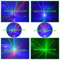 mini full color laser stage lighting