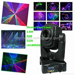 RGB Moving Head Laser dmx scan light