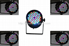 Par 64 de led RGB 3Wx54pcs RGB Indoor LED Light Par Light - LED1209