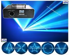 Cyan ILDA laser Animatio