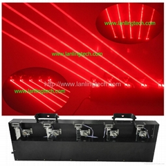 DMX laser light Red Fat