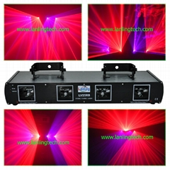 4 head RB DMX dj disco laser light-LV25RB