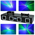 4 head GB laser light show projector-L2654