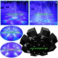 8 claw stage laser light projector Christmas light