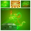 300mW RGY Animation laser Light lanling