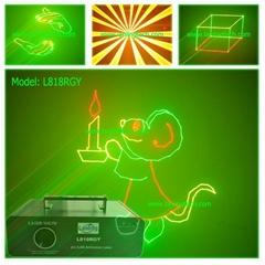 300mW RGY Animation lase