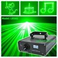 dj laser light 500mW Green Animation laser light