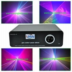 rgb laser light 1w stage