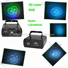 RGB 3D laser light audio lighting dj mixers
