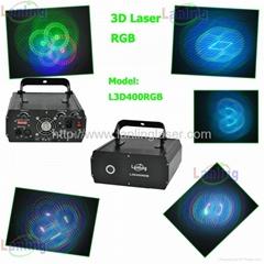 RGB 3D laser light audio lighting dj mixers