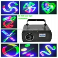 RGB full color Animation 3D laser light