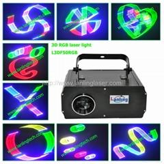RGB full color Animation 3D laser light/disco light