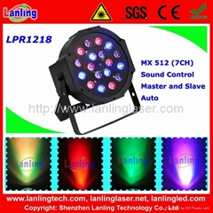 LED PAR-18 CAN WITH DMX Disco Light