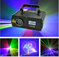 1.5W RGB 25kpss ILDA Cartoon Laser logo projector