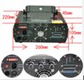 1.5W RGB 25kpss ILDA Cartoon Laser logo projector