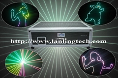 Sell 1W RGB Animation laser light stage light for dj disco