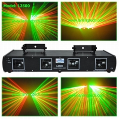 4 head RG stag laser light projector-L2500